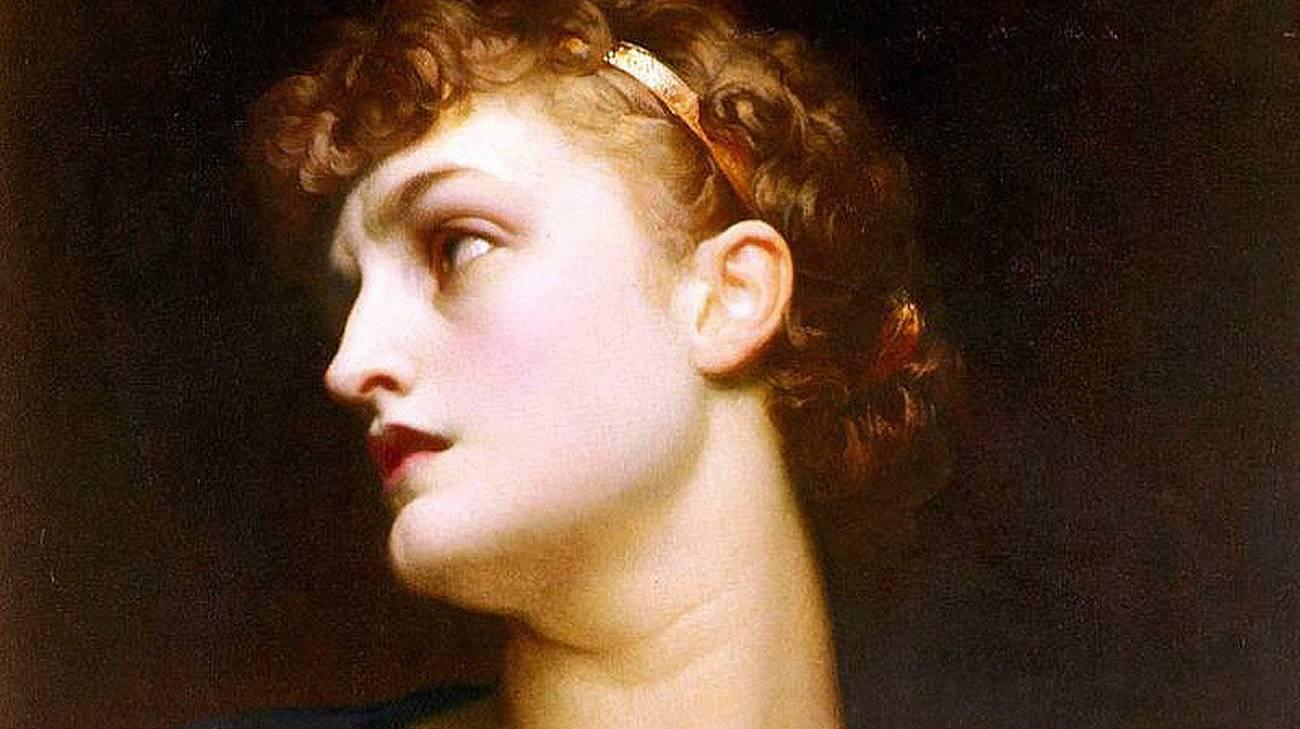 Antigone, 1882 di Frederic Leighton