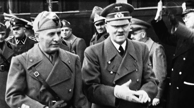 Mussolini a Genova, e la svolta del 1938