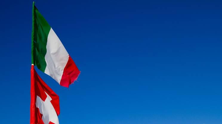 La frontiera svizzera vista dall'Italia