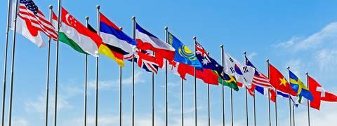 IStock_National Flag_under_blu Sky