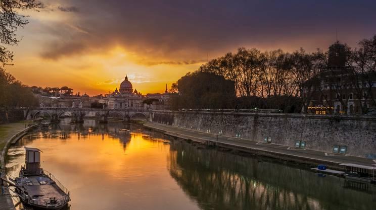 Il Tevere a Roma, porto dell'Impero