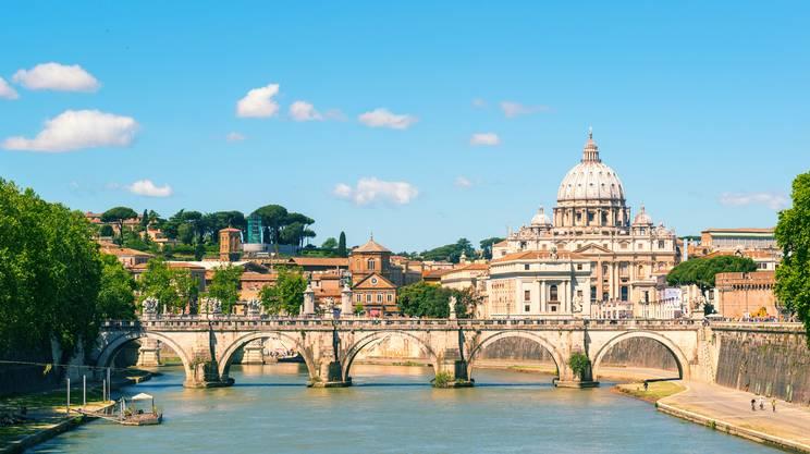 Il Tevere che inventa Roma