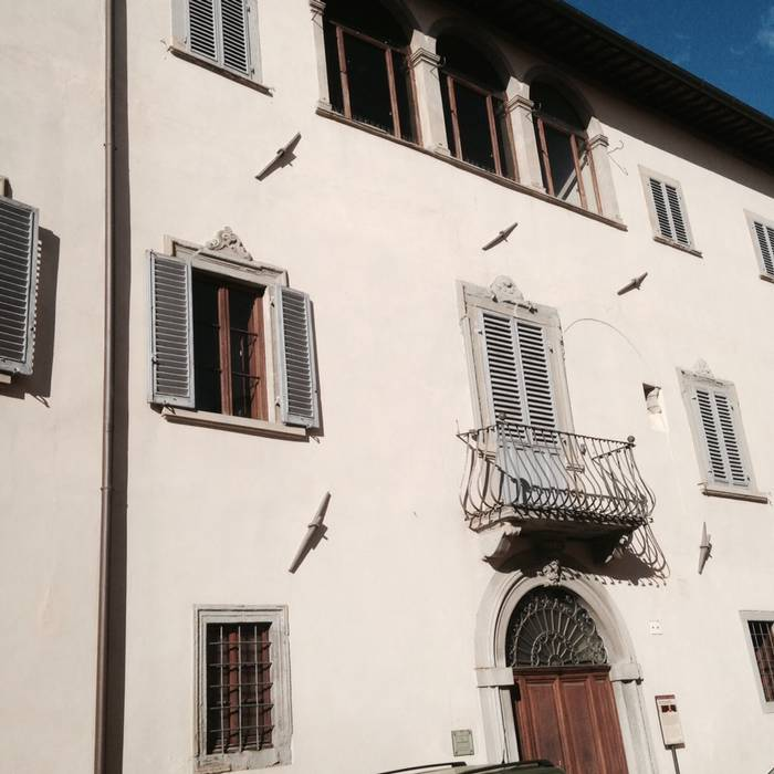 Lungo il tevere i luoghi di piero della francesca for Due case di tronchi storia