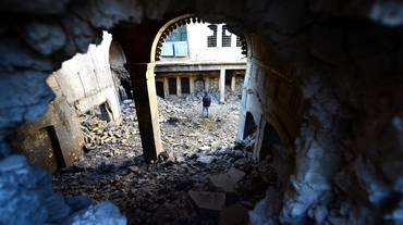Mosul sfigurata; Mosul che vuole vivere