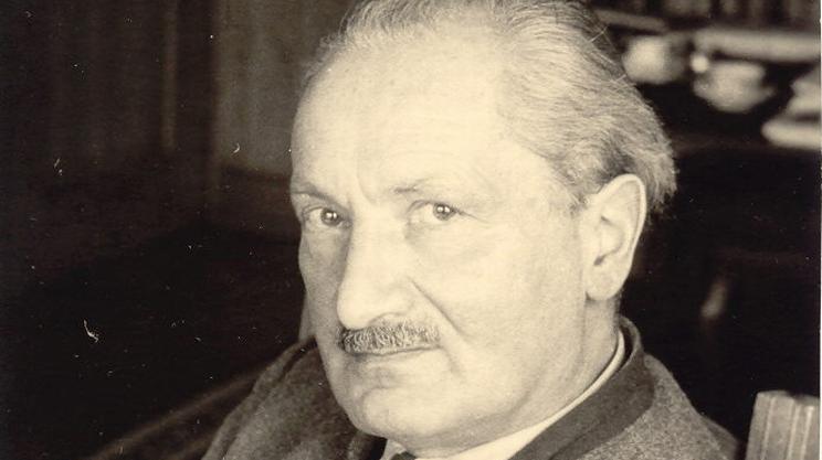 Martin Heidegger, fotografato dal figlio Hermann negli anni '50 (Foto: Hermann Heidegger) - Martin-heidegger