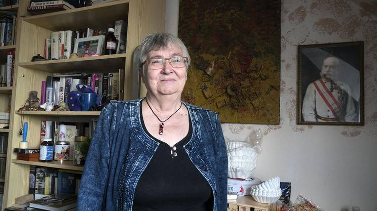 Petruska Sustrova, studentessa al tempo della Primavera di Praga, incarcerata dal 1969 al 1971, protagonista dell'opposizione al regime negli anni '70 e '80