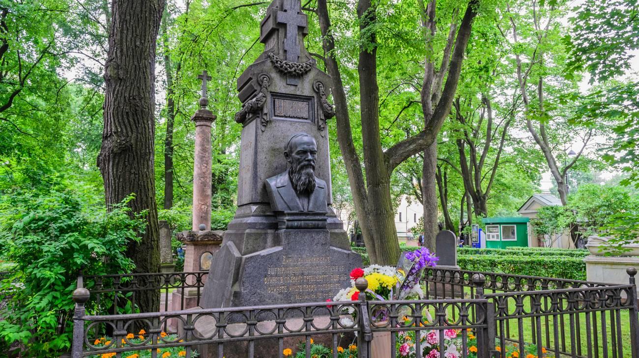 Busto di Fëdor Dostoevskij padre di Ljubov' (Aimée) Dostoevskij