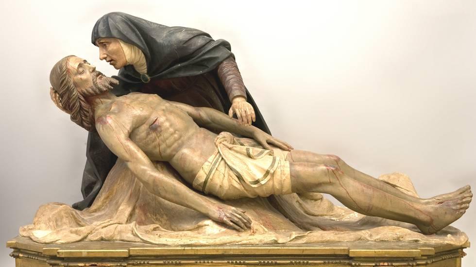 'Compianto sul Cristo morto' - chiesa San Bartolomeo di Caspano di Civo (Sondrio)