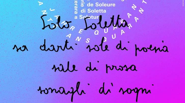 Rete Due alla 40esima edizione delle Giornate letterarie di Soletta