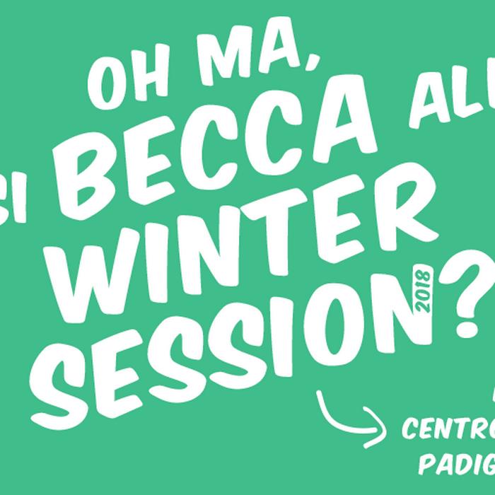 Palco ai Giovani Winter Session: ci siamo!