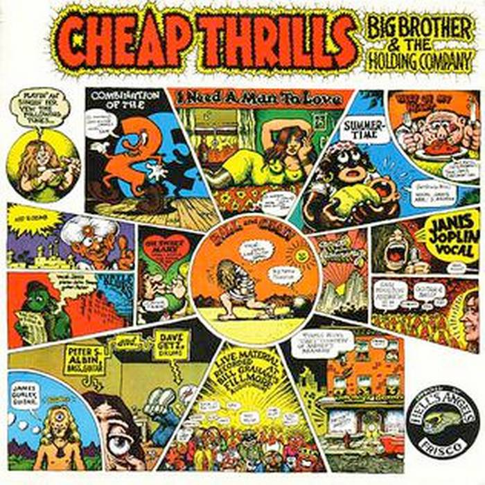 "I 50 anni di ""Cheap Thrills"""