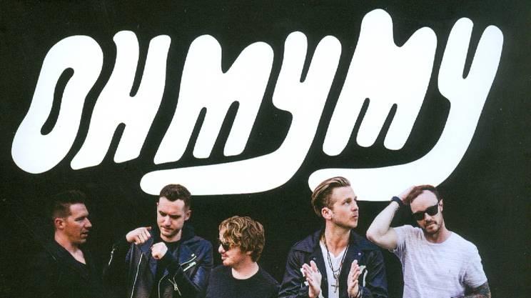 "OneRepublic presentano ""Oh my my"""