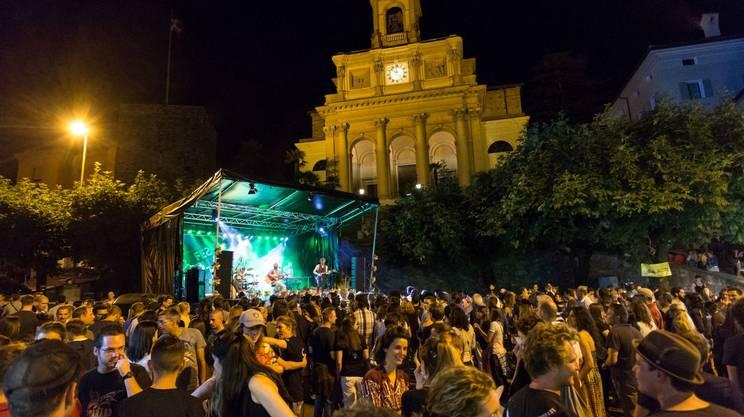Rete Tre alla Festa della Musica a Mendrisio