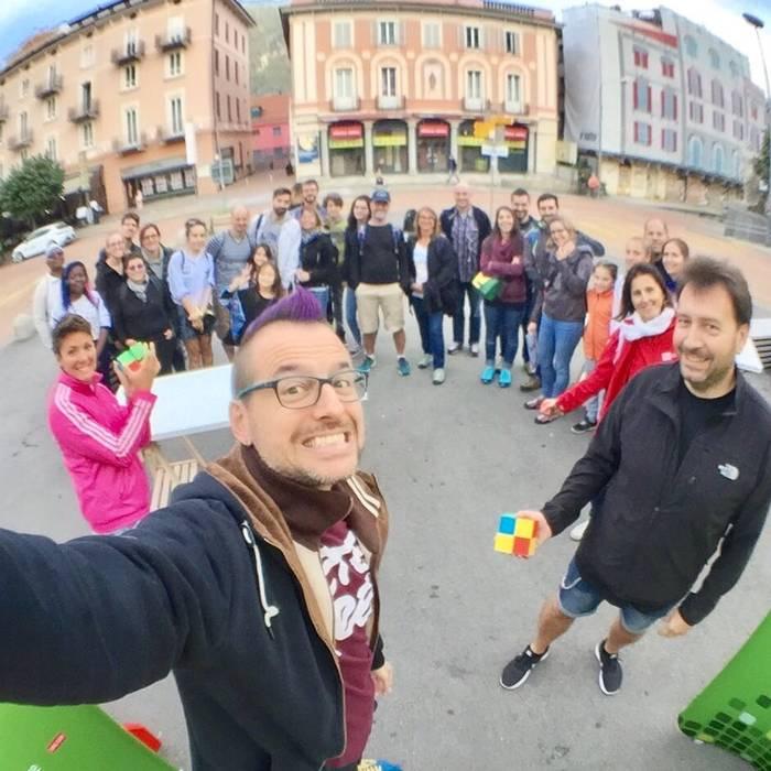 Fisheye selfie