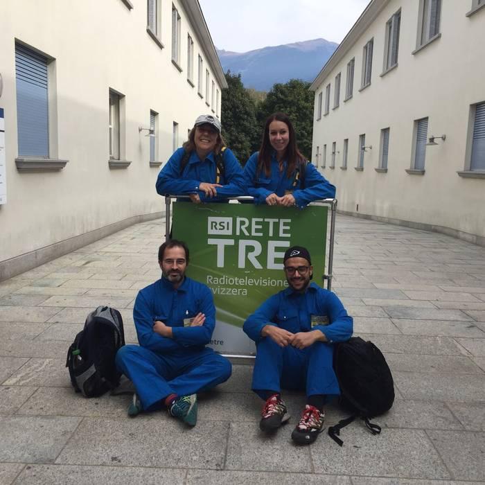 Il Dream Team alla Biblioteca Cantonale di Bellinzona