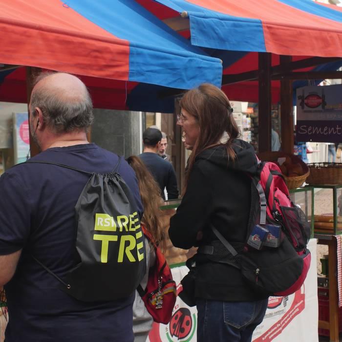 Pit stop al mercato di Bellinzona