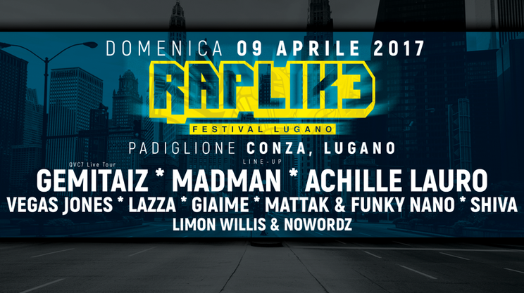 Rete Tre al RapLike Festival