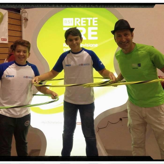 Sportissima 2017 - Bellinzona - Davide Riva e l'Hula-Hoop