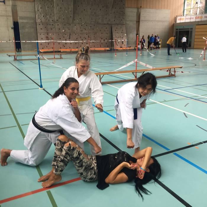 Sportissima 2017 - Biasca - (Quel che resta di Rosy) e le arti marziali