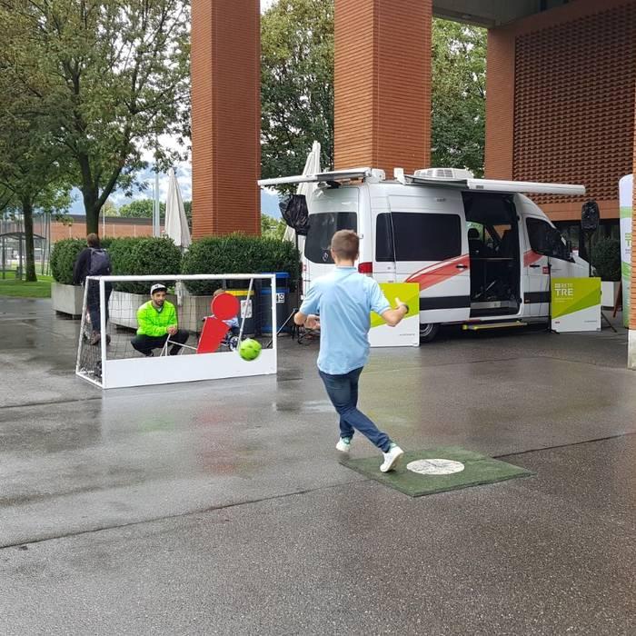 Sportissima 2017 - Tenero - I rigori con Fab
