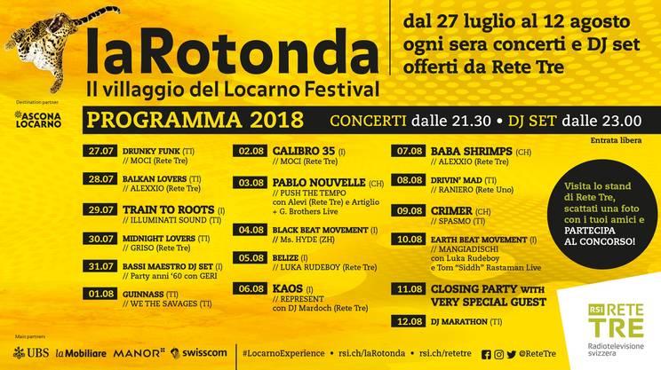 LaRotonda al Locarno Festival con Rete Tre!