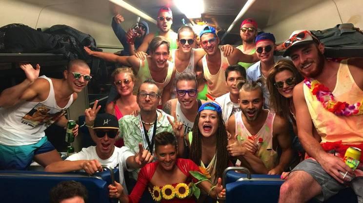 Alla Street Parade 2017 col 20° treno discoteca Sound & Fun
