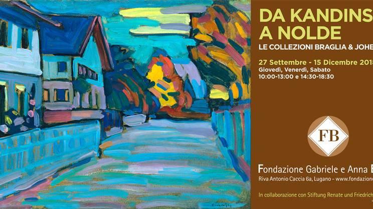 Da Kandiski a Nolde dialogo fra due collezionisti presso la Fondazione Braglia