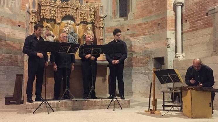 Pellegrinaggio sonoro e concerto con l'Ensemble Modulata Carmina
