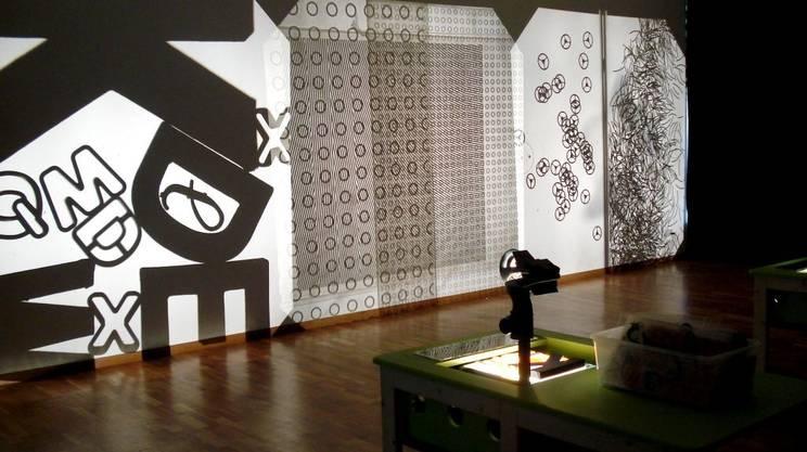 """""""L'Atelier delle luci. L'Arte con il retro-proiettore"""""""