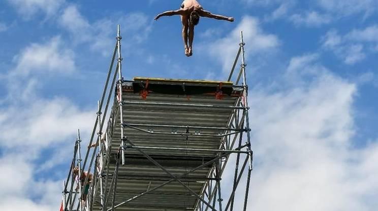 Cliff Diving Lugano