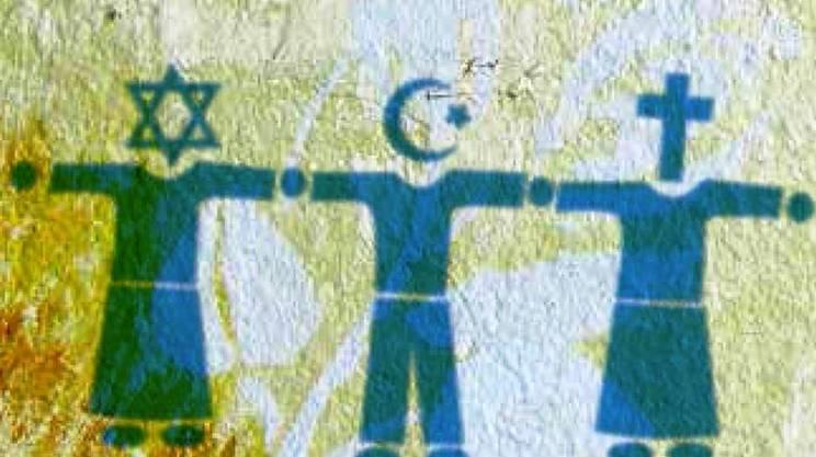 religione ebraica, musulmana e cattolica