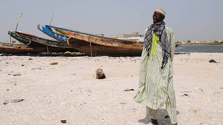 Ibrahima Diagne, impegnato nella difesa ambientale di Bargny, contro le centrali a carbone in Senegal