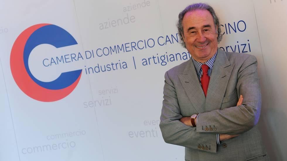 Presidente della Cc-Ti Franco Ambrosetti