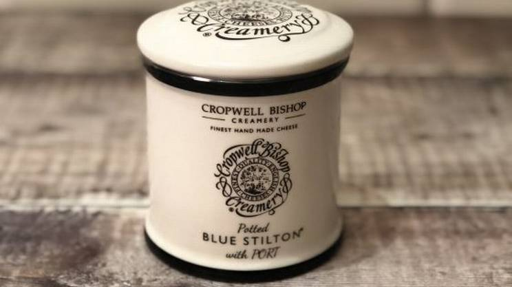 Blue Stilton with Port