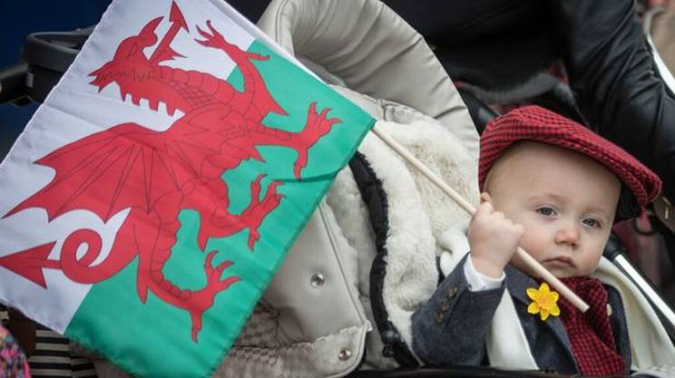 St. David's day, Galles