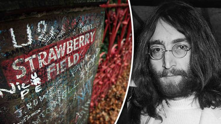 Strawberry Field in Woolton, Liverpool