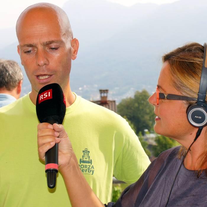 Carla Norghauer e Nicola Rezzonico, Organizzatore di Casse di sapone, Porza7, Domenica in comune 04.09.16