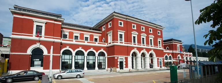 La stazione di Lugano