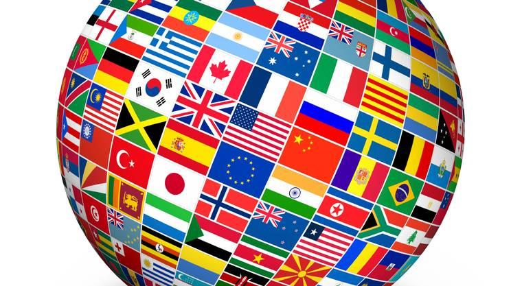 Bandiera, Globo, Sfera, Pianeta, Terra, corsi, linguistici