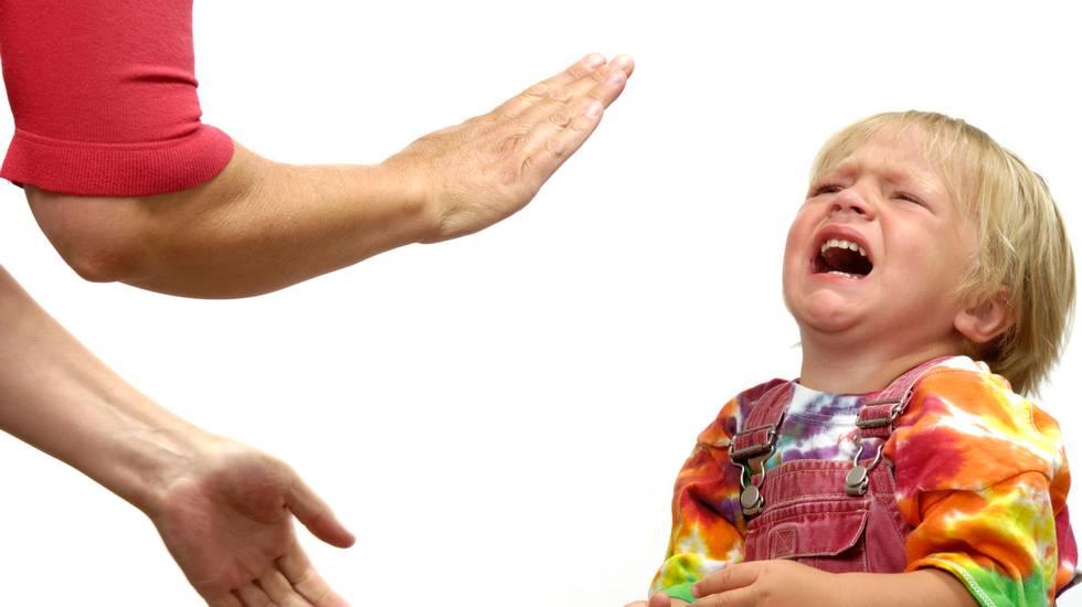 Capriccioso, sgridare il figlio