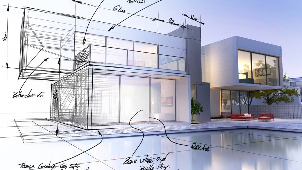 Casa, Moderno, Stile minimalista, Architettura, Progetto, Struttura edile, Forma tridimensionale,