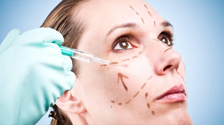 Chirurgia Plastica, Iniezione di Botulino, Trattamento di bellezza, Lifting facciale, Viso, Iniettare, Bellezza, Siringa