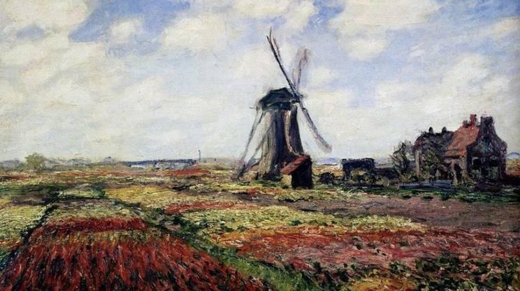Claude Monet, Mulino