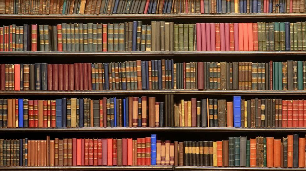 Libro, Biblioteca, Mensola per libri, Vecchio, Letteratura, volumi