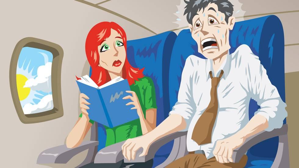 Paura, Volare, Aeroplano, Terrorizzato, Viaggio di lavoro