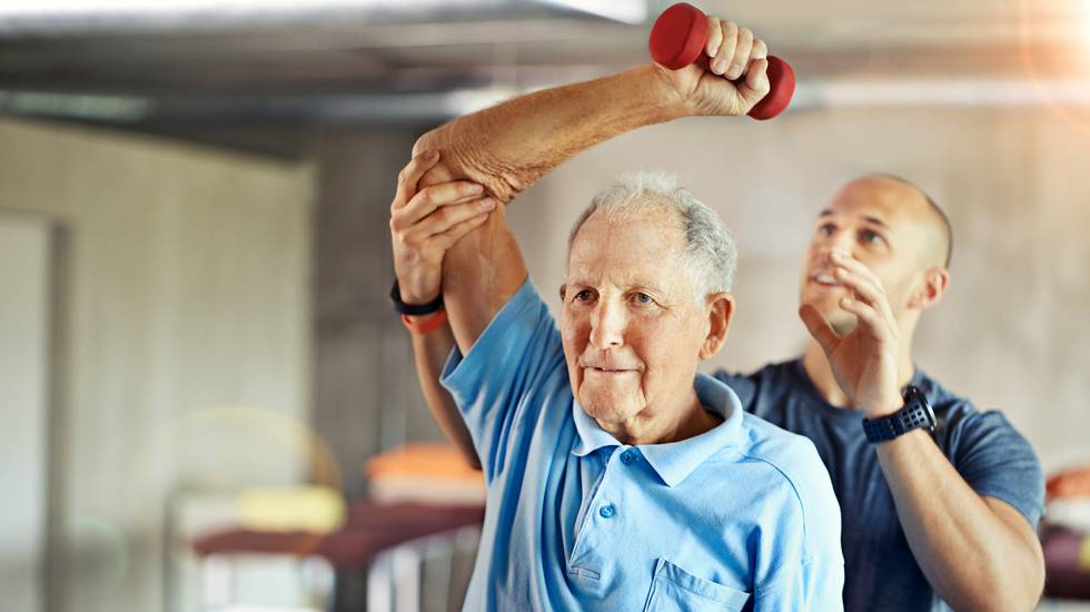 Terza età, Esercizio fisico, Centro benessere, Palestra - Club ginnico, Fisioterapia