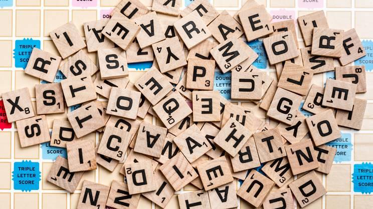 Scrabble, scarabeo, gioco, tavolo, lettere