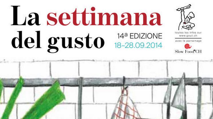 Settimana del gusto 2014