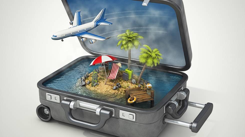 Vacanza isola in valigia