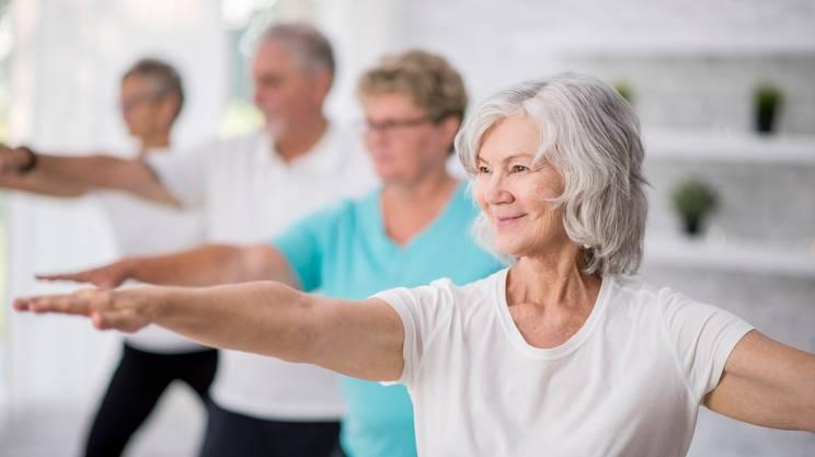 artrosi, esercizi, anziani
